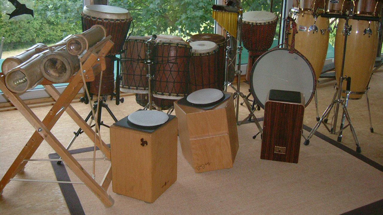 Percussion_Instrumente